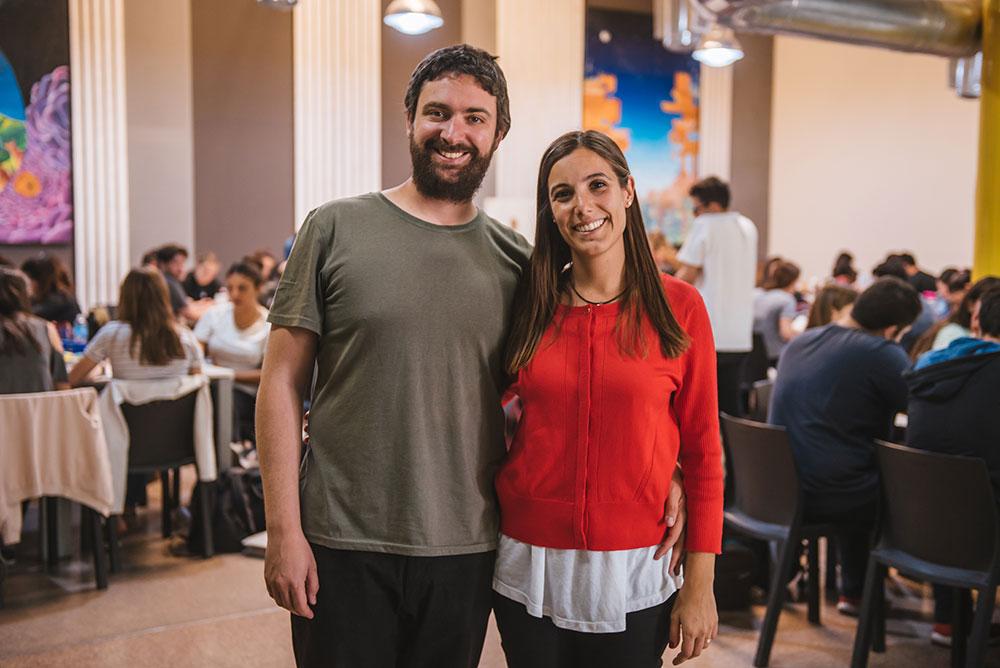 Ignacio Gómez Portillo y Carolina Pérez Mora, fundadores de Egg Educación en Mendoza