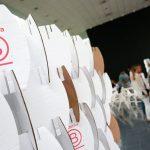 Sistema B Logo en Evento de Día B