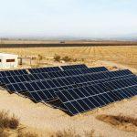 Paneles de energía solar en Mendoza.