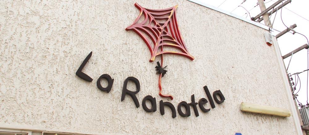 Fachada de La Rañatela, en Maipú, Mendoza.