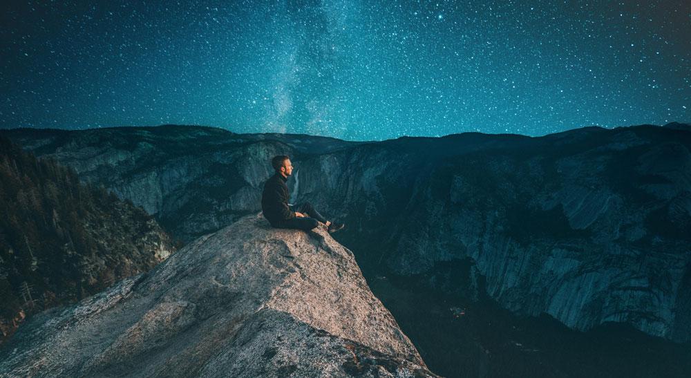 Somos uno de los lugares donde el universo se piensa a sí mismo.