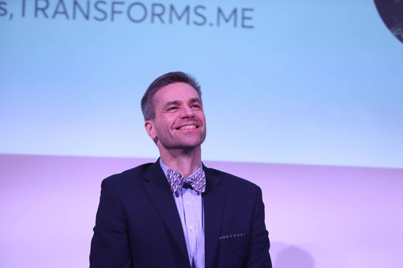 Agnis Stibe, académico y creador de Transforms-me.