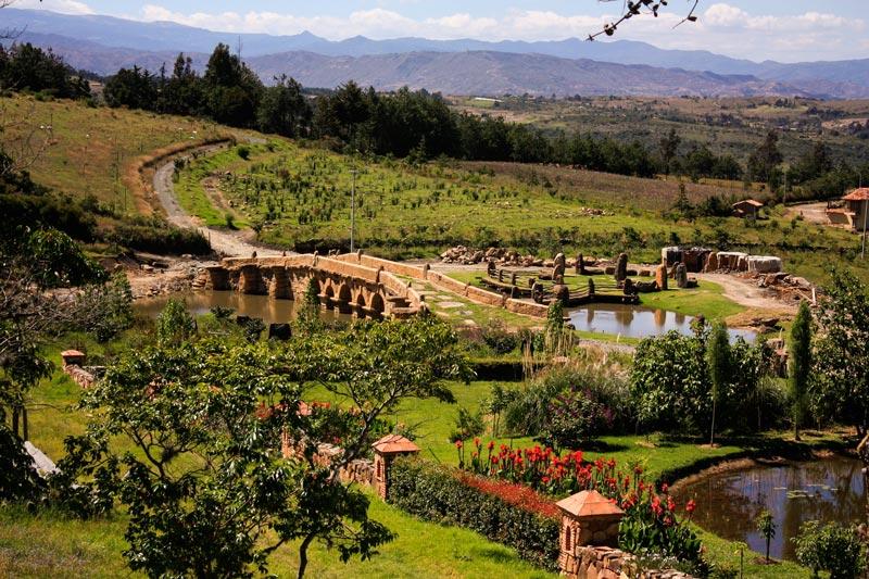 Ecoparque Conscientia Universalis, Villa de Leyva (Colombia).